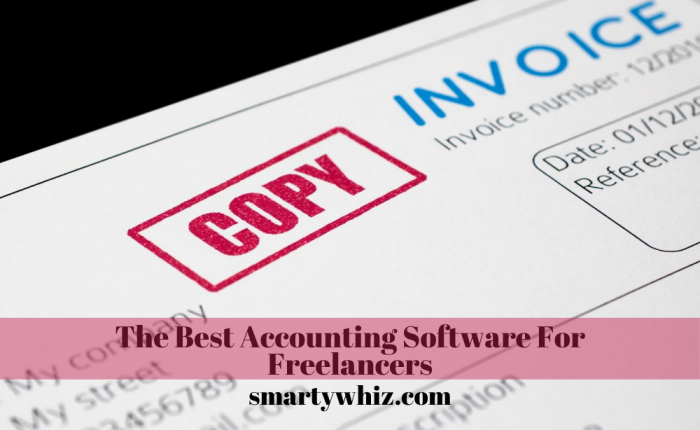 The Best Accounting software for freelancers